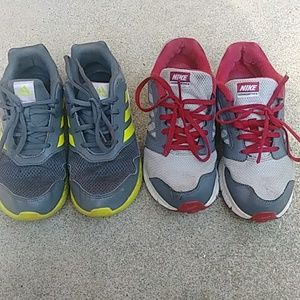 Boys Adidas Nike lot